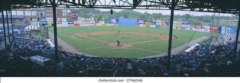 Bill Meyer Stadium, AA Southern League, Greenville, South Carolina