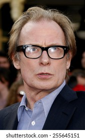"Bill Nighy attends the World Premiere of ""Pirates of the Caribbean: At World's End"" held at Disneyland in Anaheim, California on May 19, 2007."