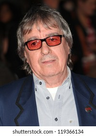Bill Wyman arriving the Premiere of 'Crossfire Hurricane' during the 56th BFI London Film Festival at Odeon Leicester Square, London. 18/10/2012 Picture by: Alexandra Glen