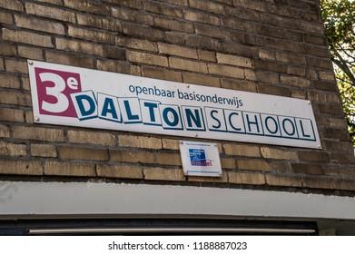Billboard 3rd Dalton School At Amsterdam The Netherlands 2018