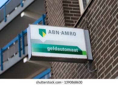 Billboard ABN AMRO Bank At Apeldoorn The Netherlands 2018