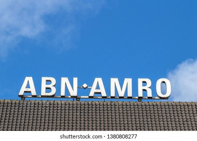 Billboard ABNA AMRO Bank At Amsterdam The Netherlands 2019