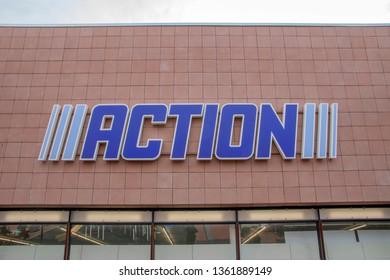 Billboard Action Shop At Amstelveen The Netherlands 2019Billboard Action Shop At Amstelveen The Netherlands 2019