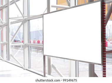 Billboard for advertisement use in a modern building