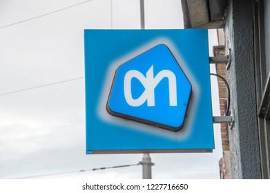 Billboard AH Supermarket At Amsterdam The Netherlands 2018
