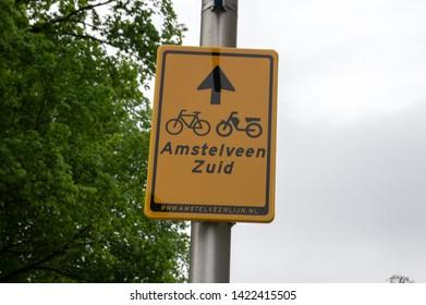 Billboard Amstelveen Zuid At Amstelveen The Netherlands 2019