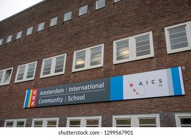 Billboard Amsterdam International Community School At Amsterdam The Netherlands 2019