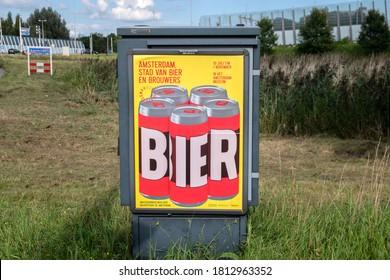 Billboard Amsterdam Museum Bier Exhibition At Amsterdam The Netherlands 11-9-2020