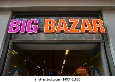 Billboard Big Bazar At Amsterdam East The Netherlands 2019
