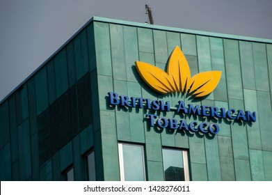 Billboard British American Tobacco At Amstelveen The Netherlands 2019