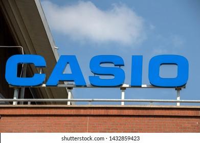 Billboard Casio At Amstelveen The Netherlands 2019