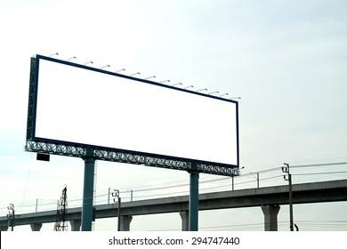 The billboard in the city