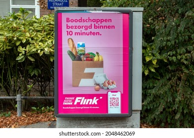 Billboard Flink At At Amsterdam The Netherlands 24-9-2021