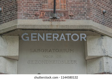 Billboard Of The Generator Hotel At Amsterdam The Netherlands 2018