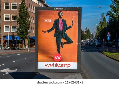 Billboard JCDecaux At Amsterdam The Netherlands 2018