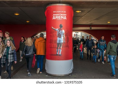 Billboard At The Johan Cruijff Arena Amsterdam The Netherlands 2019