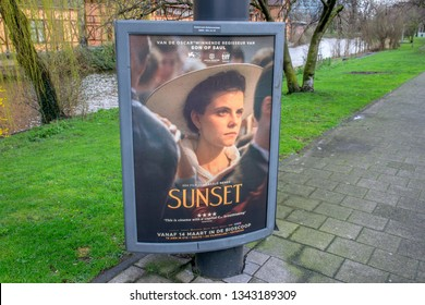 Billboard For The Movie Sunset At Amsterdam The Netherlands 2019