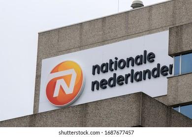 Billboard Nationale Nederland At Amsterdam The Netherlands 2020