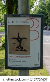 Billboard NDT Nederlands Dans Theater Jubileumprogramma At Amsterdam The Netherlands 2019