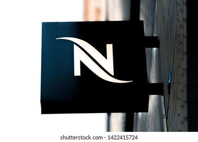 Billboard Nescafe At Amstelveen The Netherlands 2019
