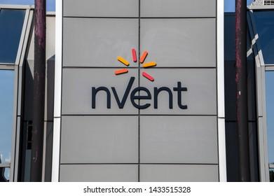 Billboard NVENT At Amstelveen The Netherlands 2019