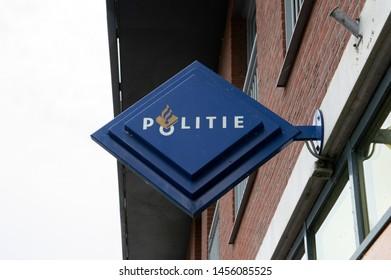 Billboard Police Station At IJburg Amsterdam The Netherlands 2019