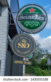 Billboard Smit & Dorlas And Heineken At Amstelveen The Netherlands 2019