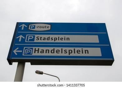 Billboard Stadsplein And Handelsplein At Amstelveen The Netherlands 2019