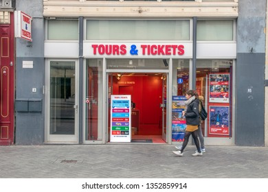 Billboard Tours & Tickets At The Reguliersbreestraat Street At Amsterdam The Netherlands 2019