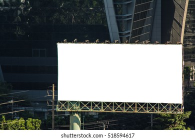 Billboards on roads