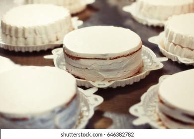 Billets for cakes