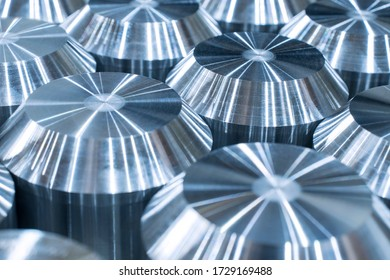 Billets from special alloy of metals for the manufacture of heavy-duty parts. Metalworking parts for the military industry