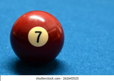 Billiard Ball number 7 isolated