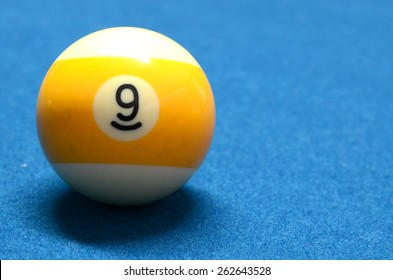 Billiard Ball number 9 isolated