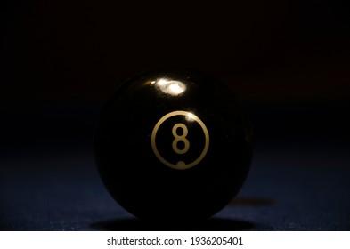 Billiard ball on the table