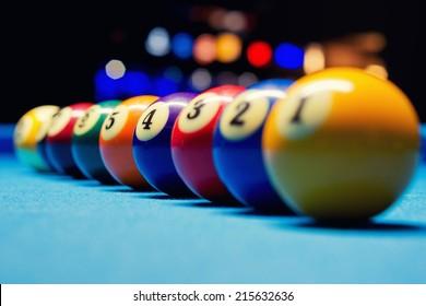 Billiard Balls / 9 ball game