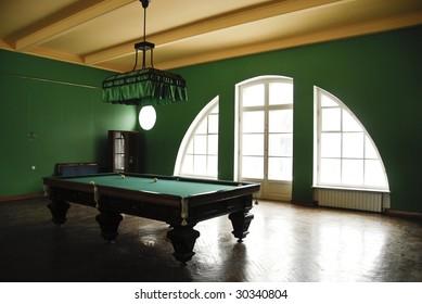 billiard hall