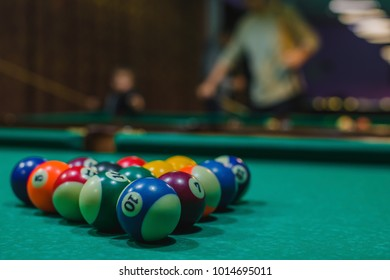 Pool Table Images Stock Photos Vectors Shutterstock - How to set up a pool table
