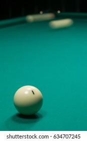 billiard, billiard table