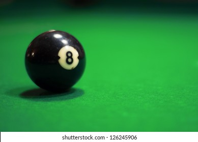 Billiard table for a pool