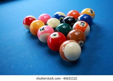 Billiards game full of fun