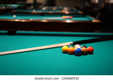 Billiards of image