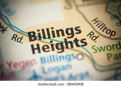 Billings Heights. Montana. USA