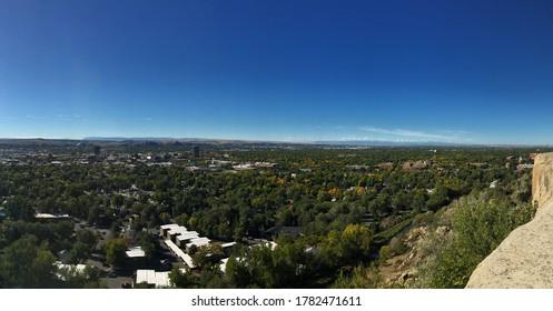 Billings Montana ridge city scape