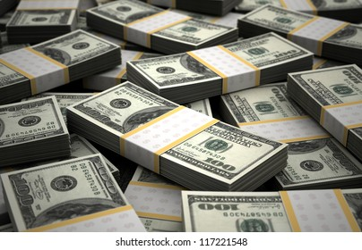Billion Dollar Concept Image (Computer generated image)