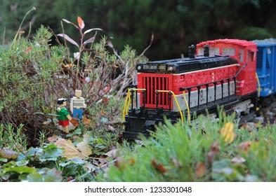 Billund/Denmark - November 2018, Park Legoland