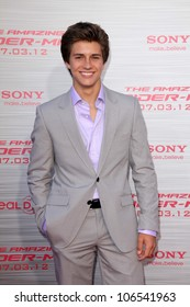 "Billy Unger at ""The Amazing Spiderman"" World Premiere, Village Theater, Westwood, CA 06-28-12"