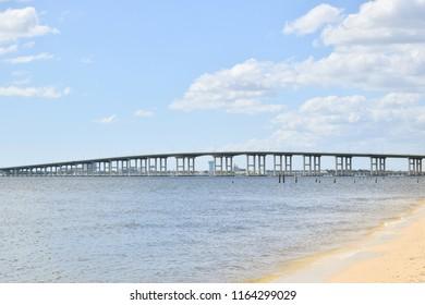 Biloxi Bay Bridge from Ocean Springs to Biloxi, Mississippi