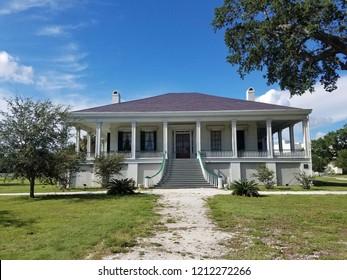 """Biloxi, MS / USA - August 28, 2018 : Beauvoir House / Jefferson Davis Museum in Biloxi, MS"""