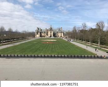 Biltmore mansion in Asheville North Carolina